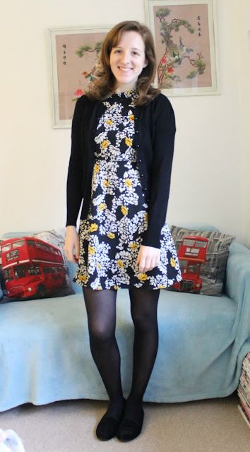 OOTD: Zara Boho Floral Dress Fashion Blogger Outfit Of The Day