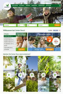 Center Parcs neue Website