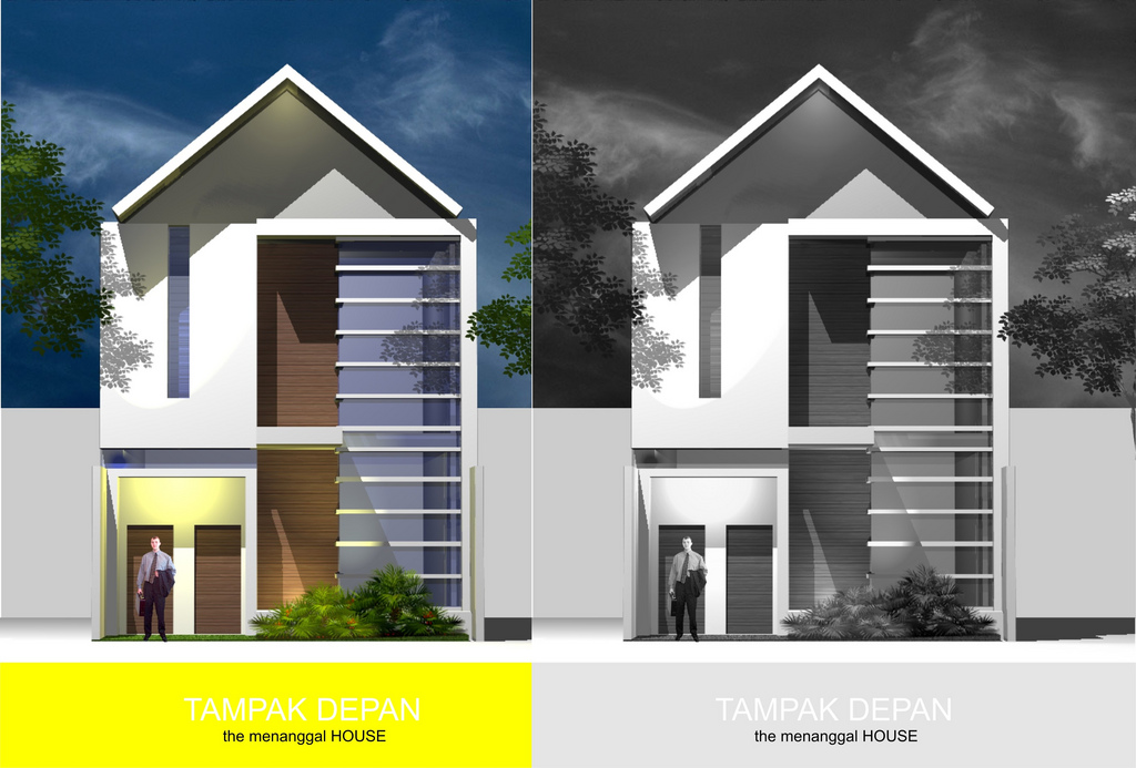 Cawah homes minimalist luxurious indonesian homes design for Famous minimalist buildings