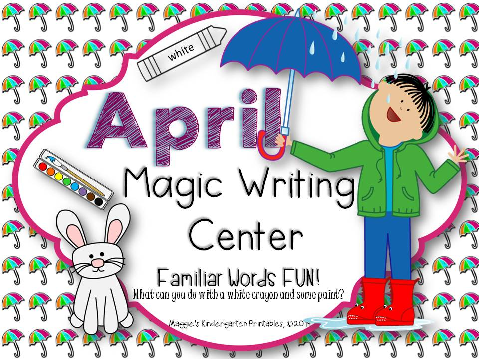 https://www.teacherspayteachers.com/Product/April-Magic-Writing-Center-Activities-Quick-Print-and-Ready-in-a-Flash-1116714