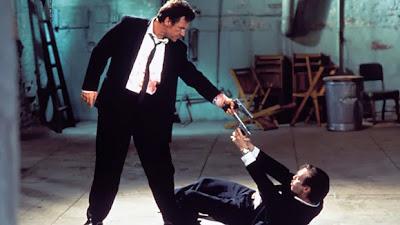 Harvey Keitel y Steve Buscemi en Reservoir Dogs