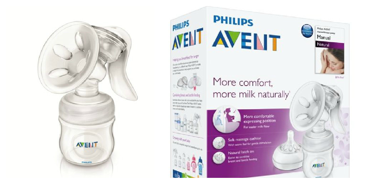 philips avent manual breast pump price