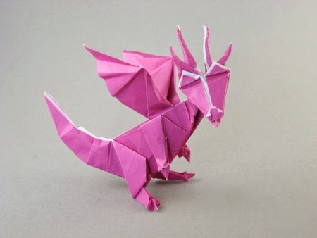 Origami Chinese Dragon Easy Craft Ideas And Easy Crafts