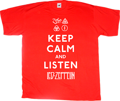 led Zeppelin rock t-shirt ephemeral-t-shirts