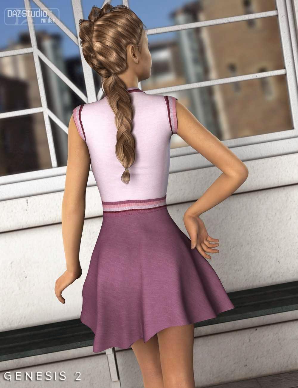 Robe patineuse pour Genesis 2 Femme