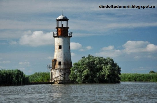 Din Delta Dunării: Farul vechi din Sulina