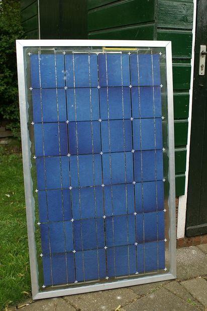 como hacer un panel solar en casa
