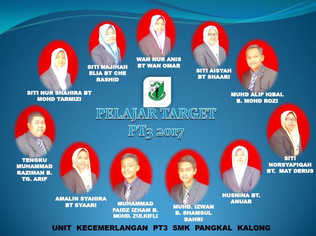 PELAJAR TARGET PT3 & SPM 2017