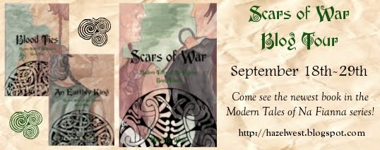 Follow the Scars of War Blog Tour!