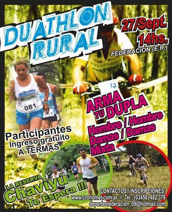 Duathlon Rural en Federacion ( E.R)
