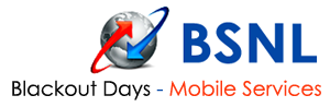 BSNL Mobile Black Out Days 2014