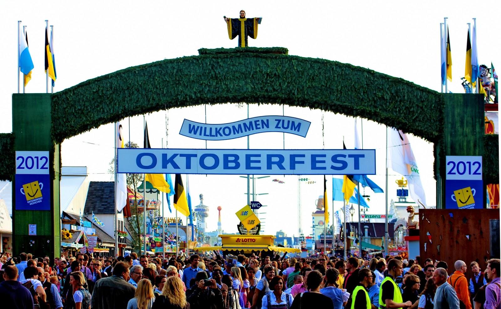 啤酒節又被稱為十月節,時間為9月下旬到10月的第一個周末,為期共16天