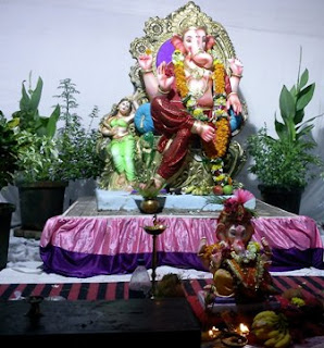 Free Beautiful Photos Collection Ganesh Chaturthi 2012 Decoration Ideas Vinayak Chaturthi 2012