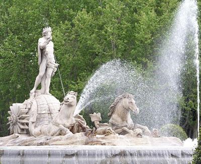 Fuente de Neptuno de Ventura Rodríguez