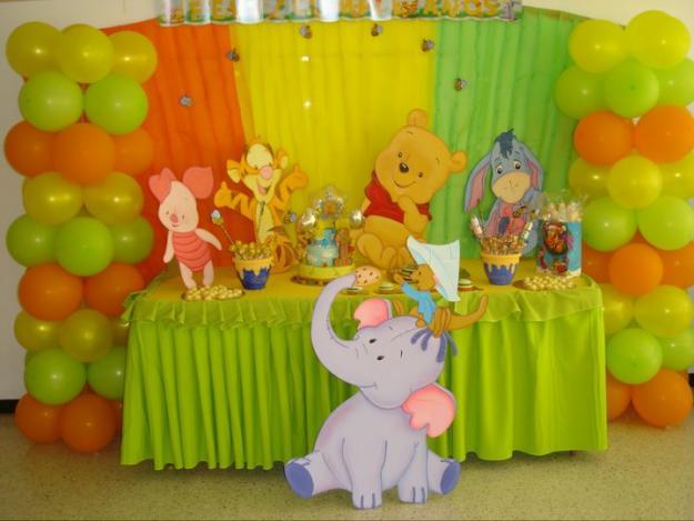 Decoracion infantil de winnie pooh bebe for Decoracion winnie pooh para fiesta infantil