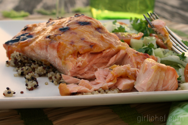 <b>Orange Marmalade Salmon</b> {#30DaysofFamilyHealth w/ @AMDiabetesBooks}