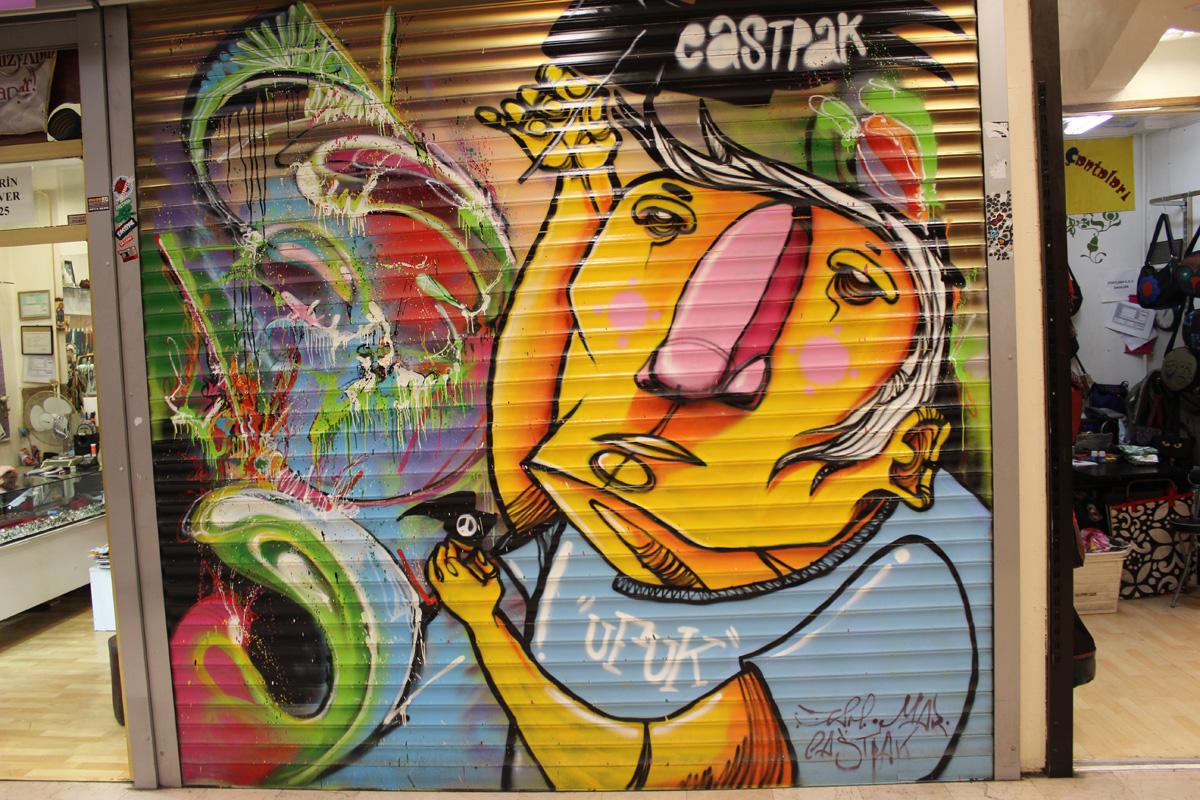 Streetart Grafitti Taksim