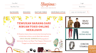 Toko Online Murah Generasi Terbaru, Shopious Dot Com