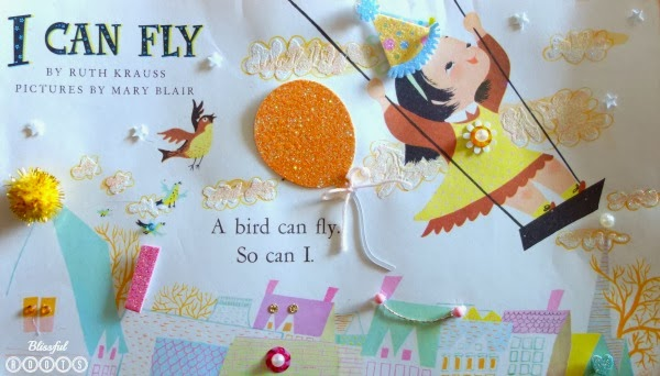 DIY Embellished Storybook Pages from Blissful Roots