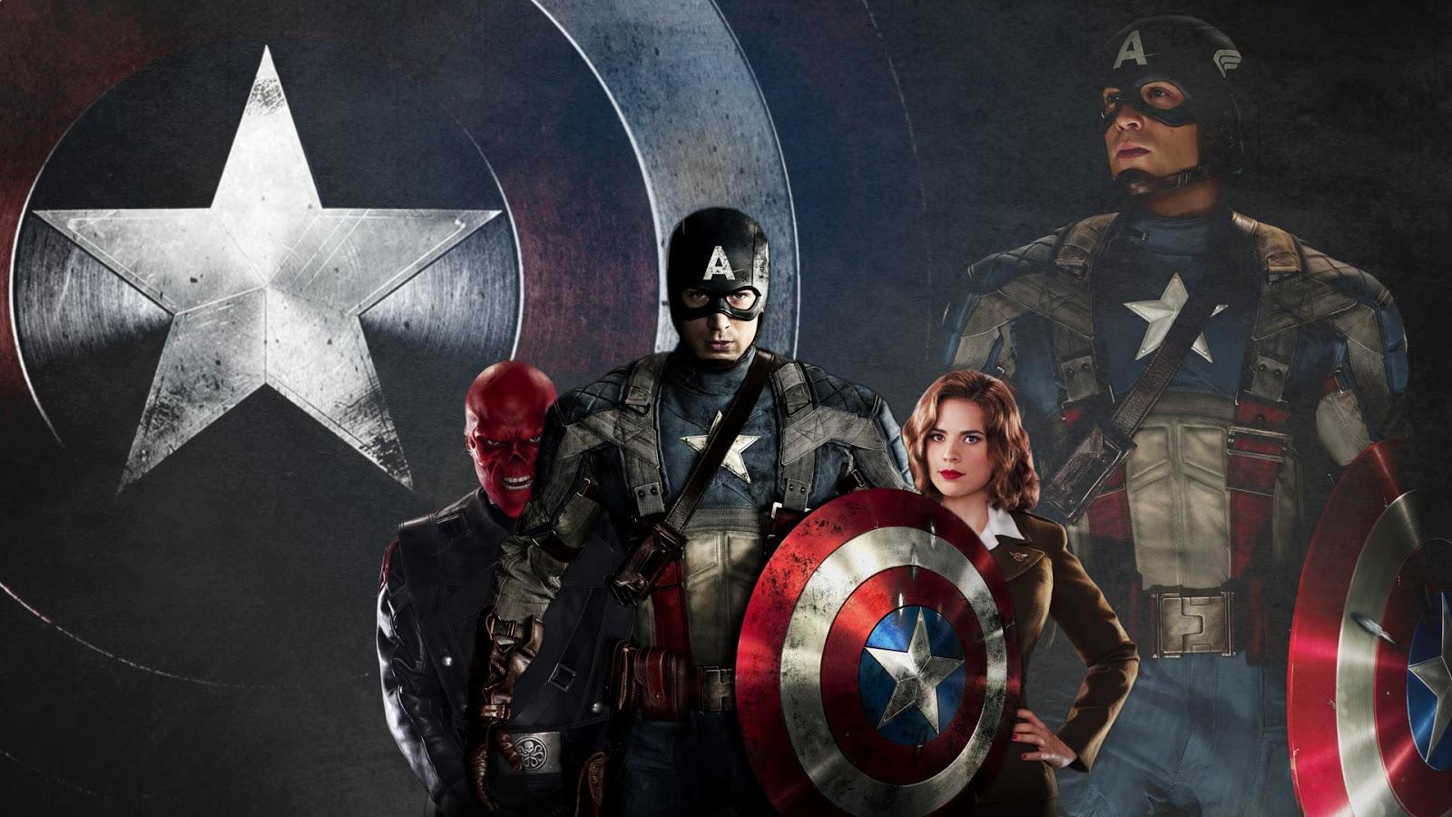 Captain America HD Wallpaper