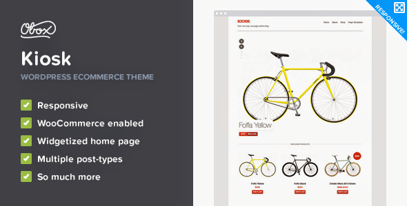 Kiosk – Premium WordPress eCommerce Theme