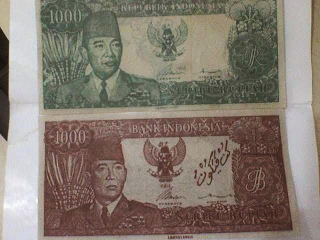 Gambar Aneh Tapi Nyata - uang Indonesia jaman dulu