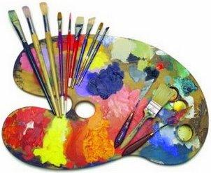 Estudi arte el arte en la historia los lenguajes art sticos - Paleta de colores pintura pared ...