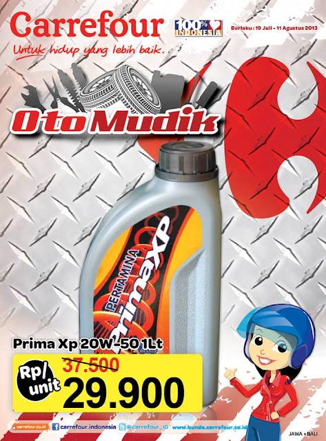 Katalog Promo Carrefour Special Otomotif (Oto Mudik) Periode 19 Juli – 11 Agustus 2013