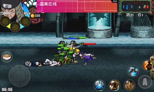 Game Naruto Senki v1.17 APK mod