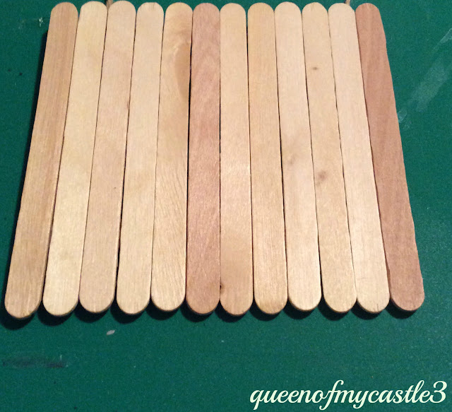 12 Popsicle Sticks