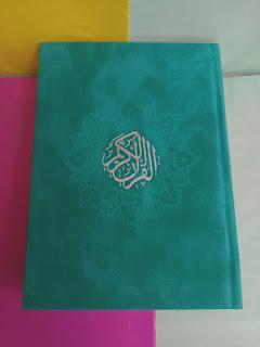 Rainbow Quran, Rainbow Quran Teal, Rainbow Quran Teal Colour