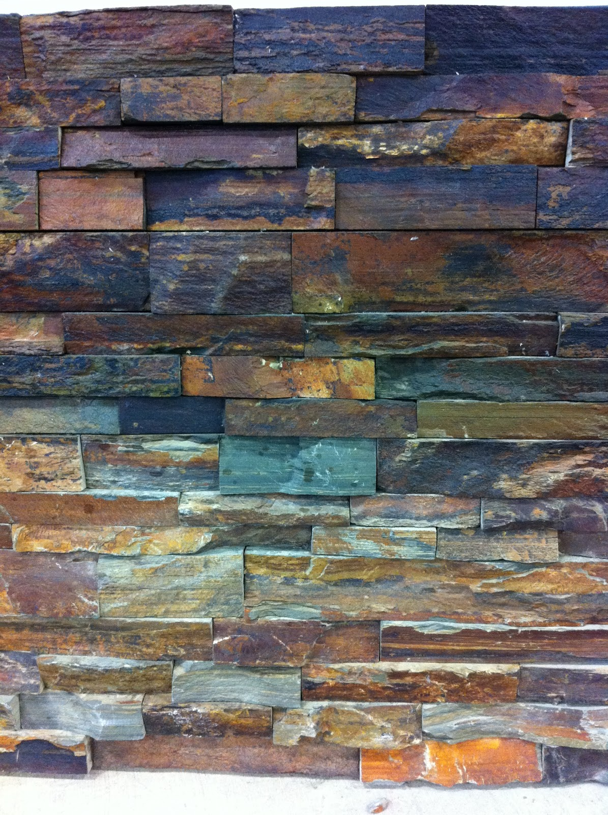 Source Flooring Kitchener Stone Feature Wall Tutorial With Pictures This Little Estate
