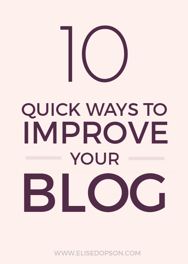 improve your blog, blogging tips, refresh your blog, beauty blog, how to start a blog