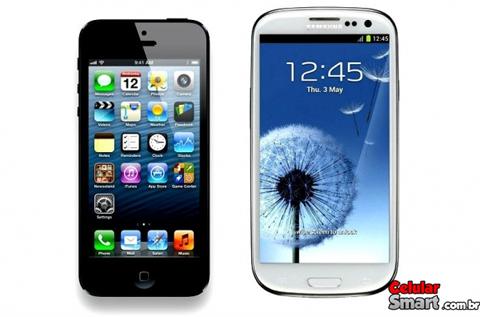 Samsung Galaxy S4 ou iPhone 5 Qual Melhor