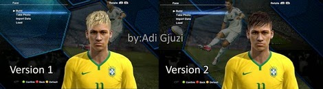 PES 2013 Neymar Face World Cup 2014 by adigjuzi1