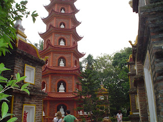 Vietnamese pagoda outside hanoi