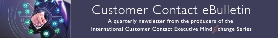 Customer Contact Executive MindXchange Chronicles