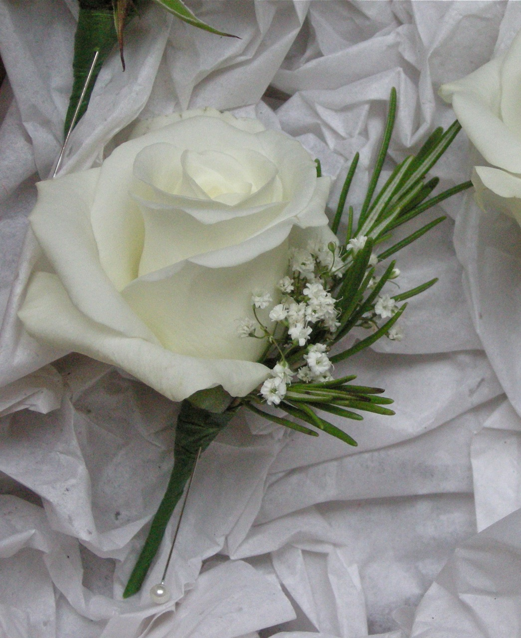 Flower Picture Inspirations Emmas Green And White Wedding Flowers