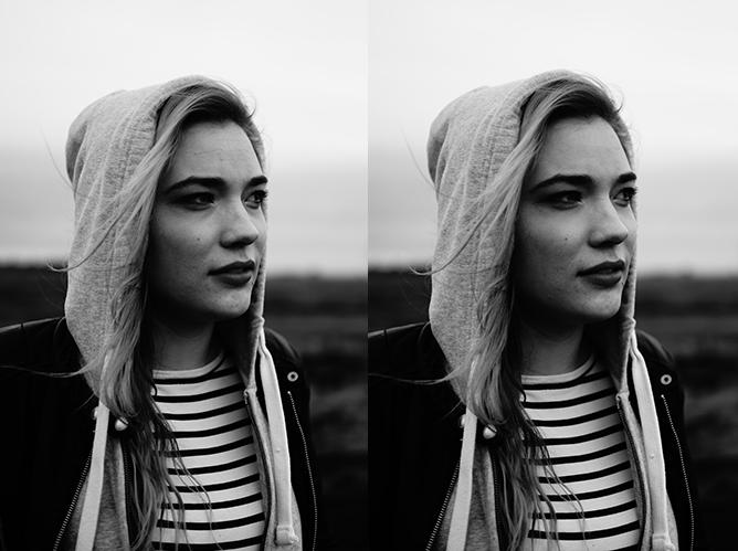 zwart-wit foto's bewerken