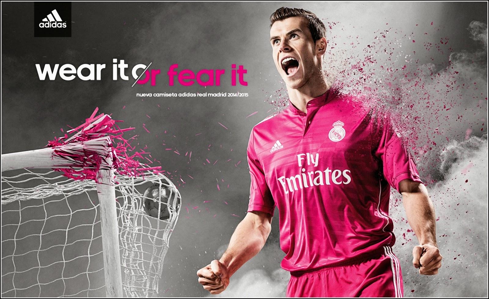 Gareth Bale Real Madrid 2014 15 Adida -Jersey Away Kit Wallpaper