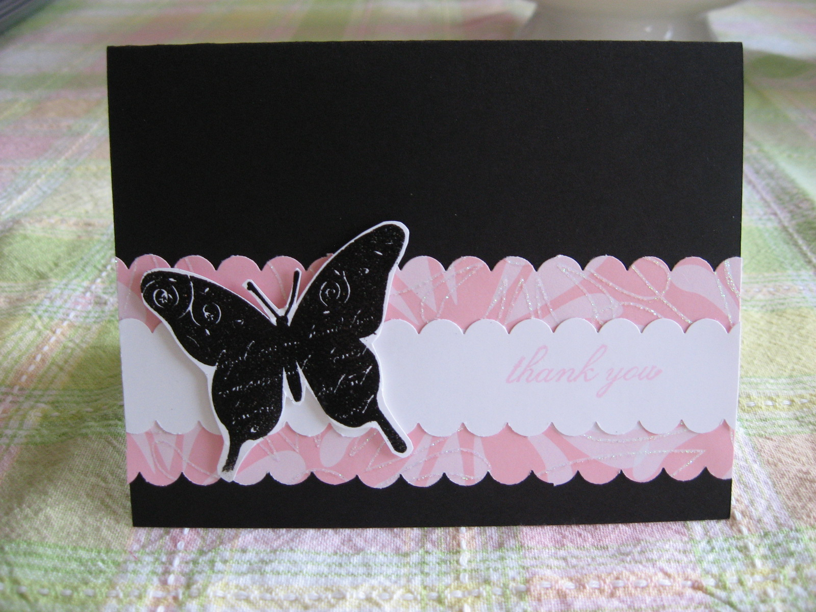 Thank You Card Ideas Stampin Up