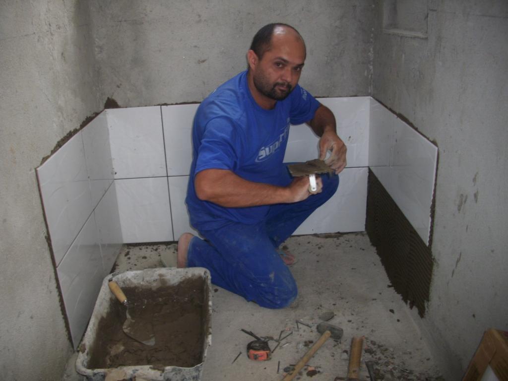 Saga do Banheiro V: Acabamentos Construindo Nossa House #595357 1024x768 Azulejo No Banheiro
