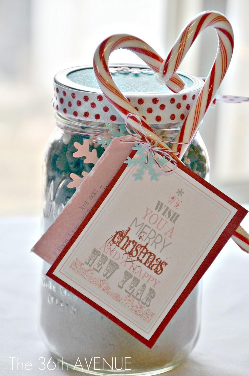 chocolate chip cookies in a jar printable tags