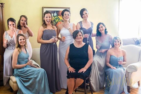 The Real Bridesmaids of Northumberland Abbey