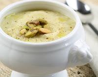 Sopa de Couve-Flor com Alho-Poró (vegana)