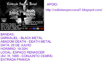 ABADOM DEATH - DEATH METAL E DARKALIEL - BLACK METAL