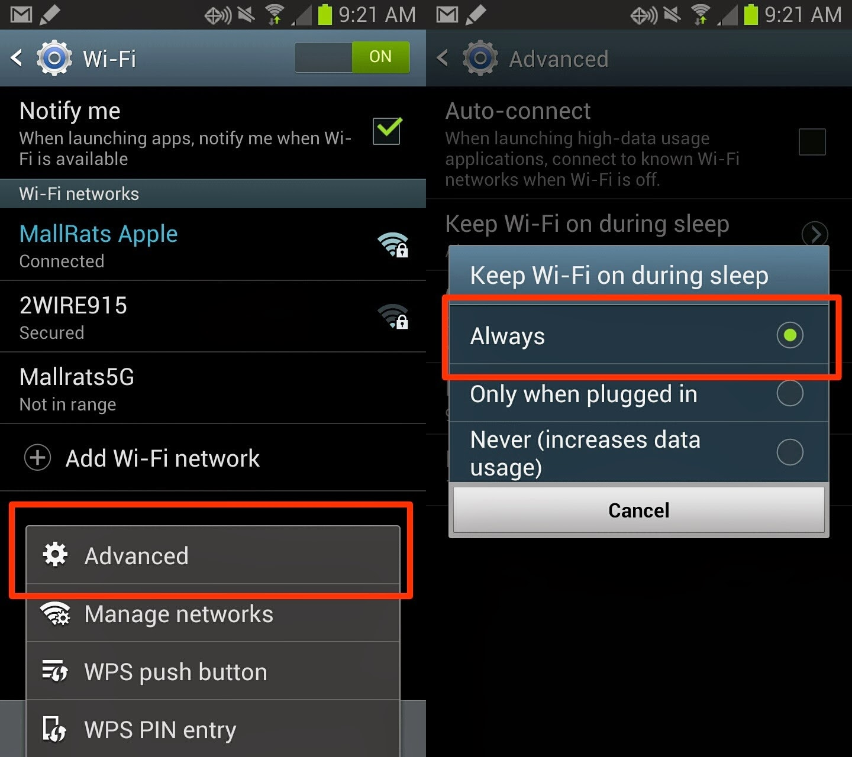 Cara Mengatasi Koneksi WiFi Samsung Galaxy Note 2