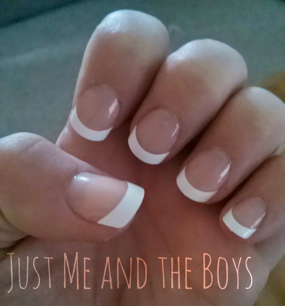 Just Me and the Boys: Kiss Everlasting French Manicure
