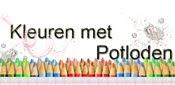 Kleuren met potloden