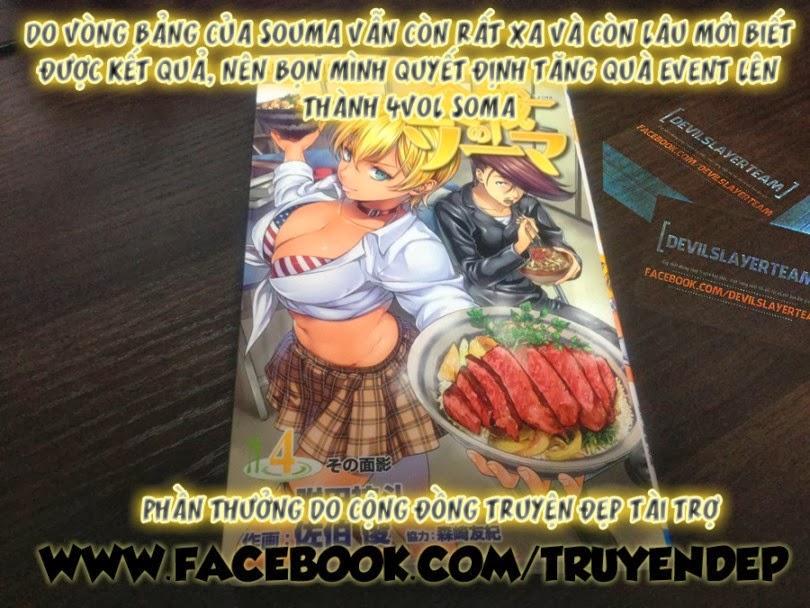 Vua bếp Soma Chap 056